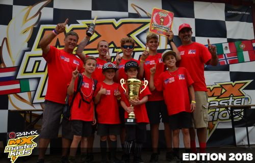 Team USA gagne le MX MASTER KIDS 2018